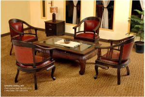 Teak Living Set Furniture