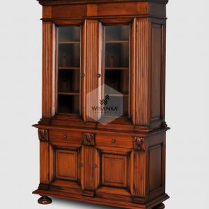 Jaden Teak Classic Display Cabinet